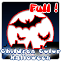 Children Color Halloween Full icon