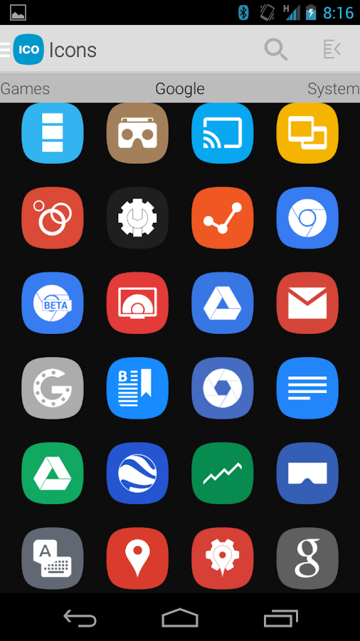Tha Nameless - Icon Pack Screenshot 1