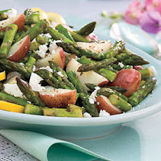 Asparagus-New Potato Hash