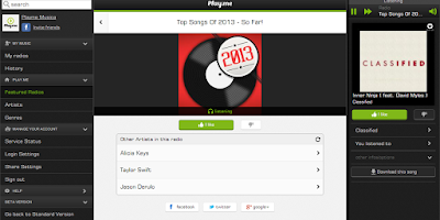 Screenshot of Top Songs 2013