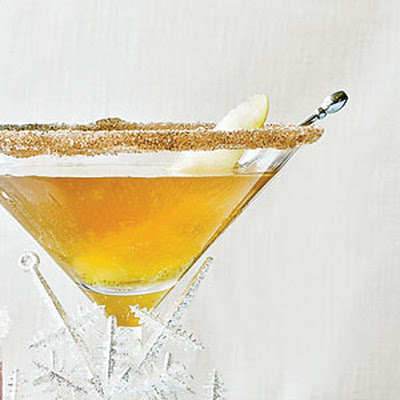Spicy Pear-tini
