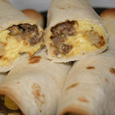 Angels Easy Breakfast Burritos