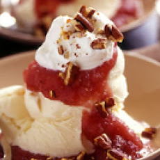 Cran-Applesauce Sundaes