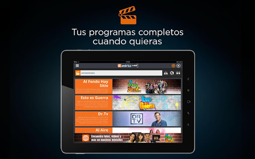 america-tvgo for android screenshot