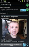 Screenshot of Facial Metrics Analysis Pro