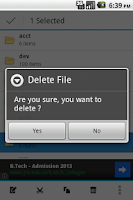 Screenshot of B - File Manager