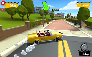 Screenshot of Crazy Taxi™ City Rush