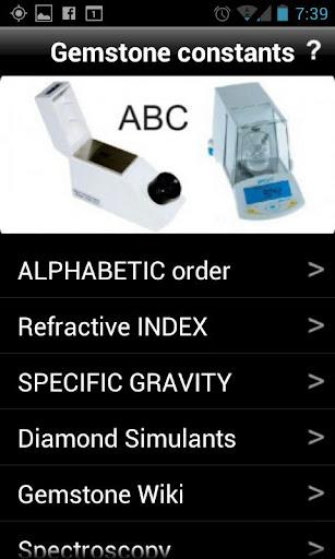 Gemstone Constants