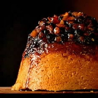 Chunky Apple and Mincemeat Sponge Pudding
