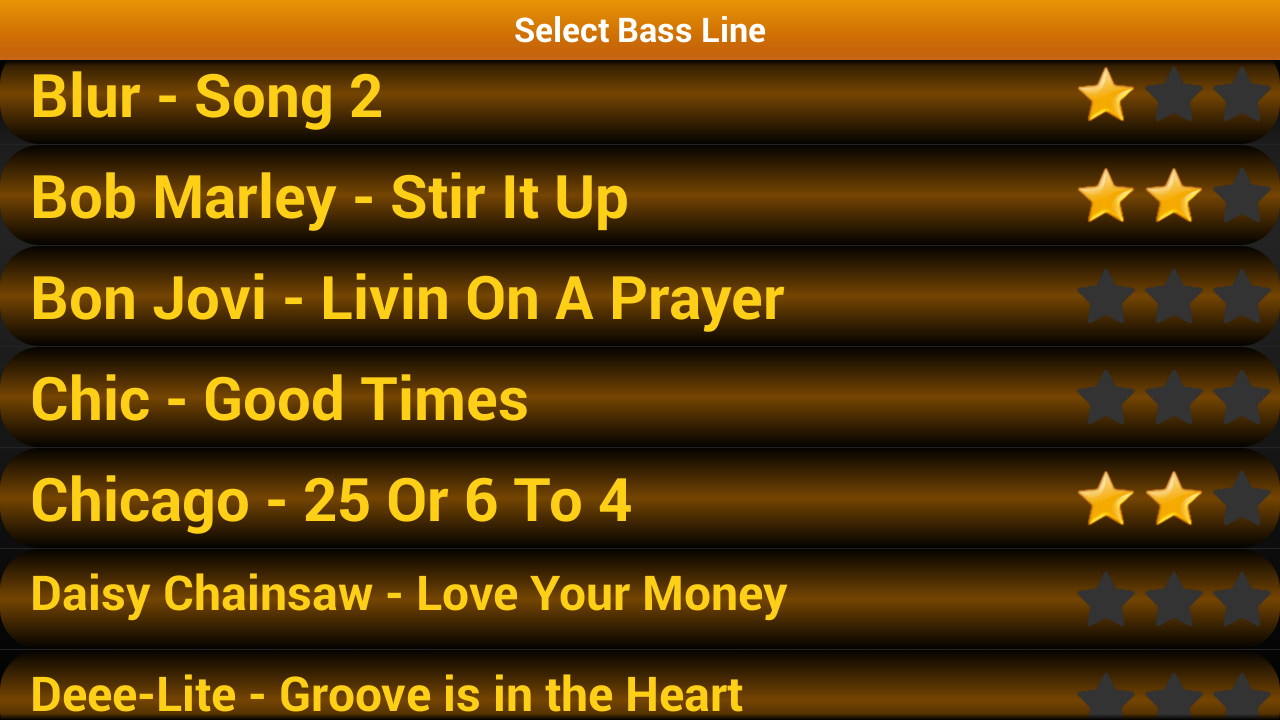 Bass Guitar Tutor Pro Screenshot 2