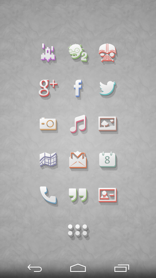 3Dion - Icon Pack Screenshot 0