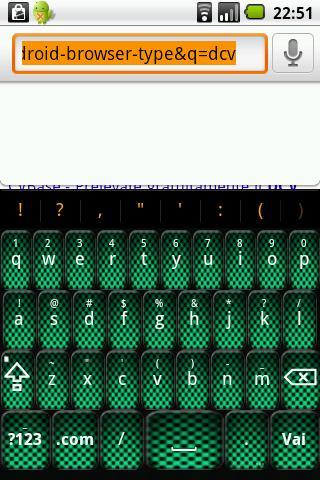 Green Carbon Keyboard Skin