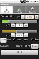 Screenshot of Gas Mixer