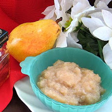 Microwave Winter Pear Amaretto Jam