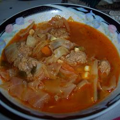 Hot and Sour Cabbage Soup