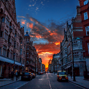 London by Sorin Bogdan - Buildings & Architecture Public & Historical ( uk, london, colors, sunset, architecture, gb )