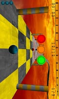 Screenshot of Skyball Lite (3D Racing game)
