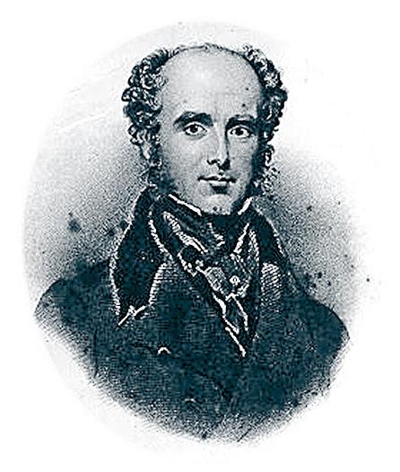 """James Hope(1801-1841), a quien se le denominó """"el primer cardiólogo moderno"""", se le atribuye el hallazgo del murmullo diastólico de la estenosis mitral en 1829. Estudió medicina en la Edinburgh University y también se formó en París, en la escuela de Laënnec. De regreso a Inglaterra instauró un premio sobre auscultación para estudiantes, entre quienes popularizó la auscultación, regalando uno de sus estetoscopios. Escribió """"Diseases of the Heart"""", recogiendo muchas observaciones de su experiencia. Similar al de Piorry, varió la parte más amplia del estetoscopio dándole forma curva. Fue fabricado en madera de cerezo y marfil por un tornero, James Grumbridge."""