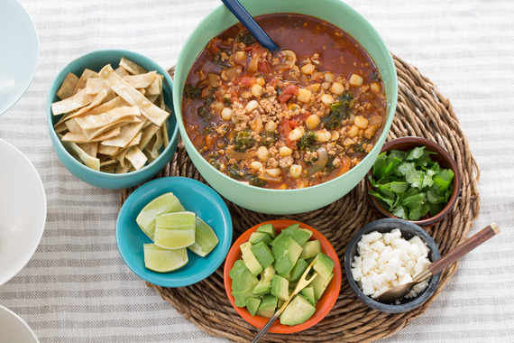 ... Hominy Pozole with Avocado & Crispy Tortilla Strips Recipe | Yummly