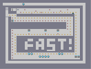 Thumbnail of the map 'fast!'