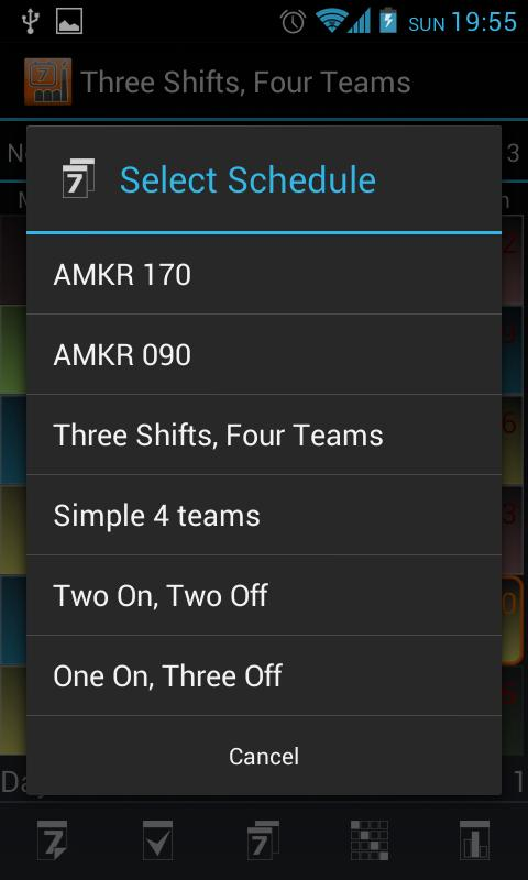 Shift Schedule + Alarm Clock Screenshot 6