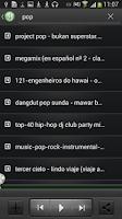 Screenshot of 4shared Music