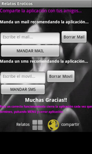 relatos-eroticos for android screenshot