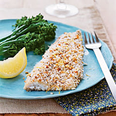Hazelnut-Crusted Trout