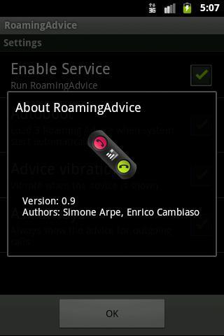 【免費生產應用App】RoamingAdvice Call Confirm-APP點子