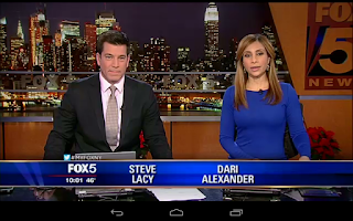 Screenshot of Fox 5 NY