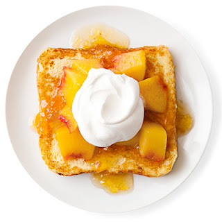 Peaches'n'Cream French Toast