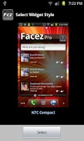 Screenshot of Facez for Facebook