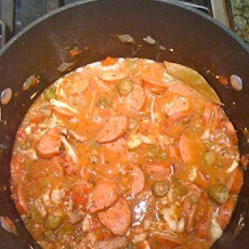 Gumbo Cookoff Winner - Chicken and Sausage Gumbo