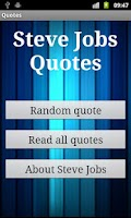 Screenshot of Steve Jobs Quotes