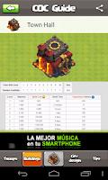 Screenshot of COC Guide