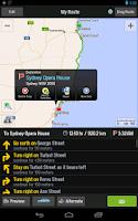 Screenshot of CoPilot Premium Australia + NZ
