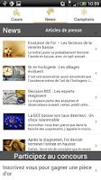 Screenshot of Cours de l'or - gold.fr