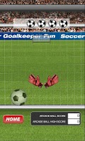Screenshot of Soccer Goalkeeper Fun