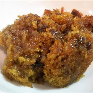 Old Fashioned Carrot Pudding