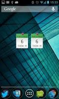 Screenshot of Hijriyah/Islam Calendar Widget