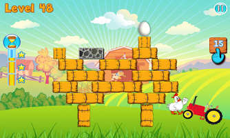 Screenshot of Angry Chicken - Eggs Rescue