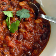 Black Bean and Espresso Chili