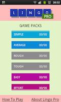 Screenshot of Lingo - Pro