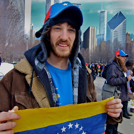 S.O.S. Venezuela demonstration  by Panda Ography - News & Events World Events