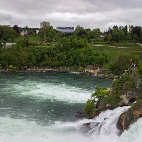Rheinfall by Hoang Nguyen Anh - Landscapes Travel ( rheinfall, switzerland )