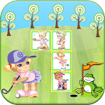 Little Girl Sports Match APK Image