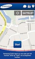 Screenshot of Samsung Cyclo App