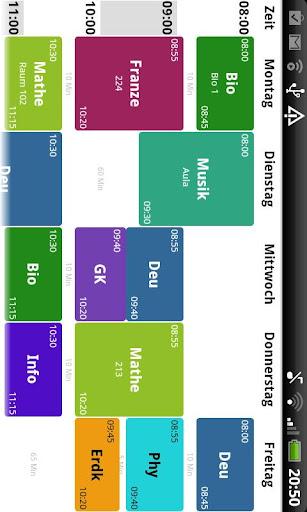 玩生產應用App|Stundenplan Deluxe Plus免費|APP試玩