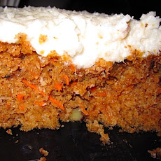 Whole Wheat Walnut Ginger Carrot Cake