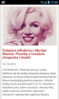 Screenshot of Slovensko Správy